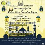 Khataman Qur'an Dan Malam Bina Iman Dan Taqwa