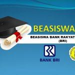 PENGUMUMAN BEASISWA BANK RAKYAT INDONESIA (BRI)